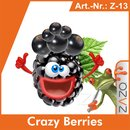 ZAZO Crazy Berries e-Liquid 10 ml 8 mg/ml