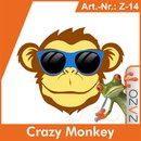 ZAZO Crazy Monkey e-Liquid 10 ml 8 mg/ml