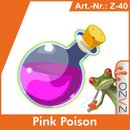 ZAZO Pink Poison e-Liquid 10 ml 4 mg/ml