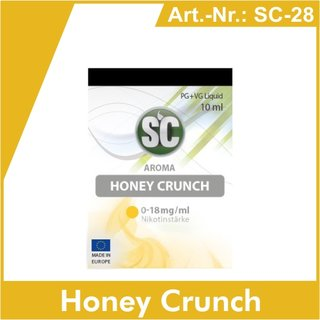 SC Honey Crunch e-Liquid - 10 ml
